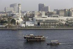 πορθμεία του Ντουμπάι στοκ εικόνα