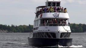 Πορθμείο επιβατών, βάρκες, σκάφη, τουρίστες, διακοπές φιλμ μικρού μήκους