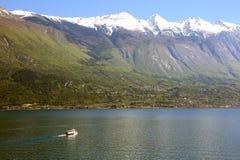 Πορθμείο στη λίμνη Garda, Ιταλία Στοκ Φωτογραφία