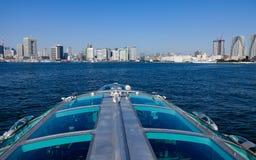 Πορθμείο στον κόλπο του Τόκιο, Ιαπωνία Στοκ εικόνες με δικαίωμα ελεύθερης χρήσης