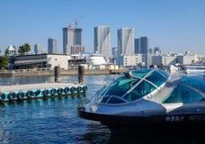 Πορθμείο στον κόλπο του Τόκιο, Ιαπωνία Στοκ εικόνα με δικαίωμα ελεύθερης χρήσης