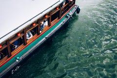 Πορθμείο στον ποταμό της Σιγκαπούρης Στοκ Εικόνες