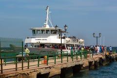 Πορθμείο στο νησί Gorée στοκ φωτογραφία με δικαίωμα ελεύθερης χρήσης