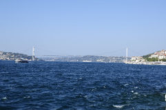 Πορθμείο στο bosphorus της Κωνσταντινούπολης, Τουρκία Στοκ Εικόνες