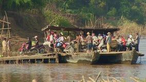 Πορθμείο, mekong, Καμπότζη, Νοτιοανατολική Ασία φιλμ μικρού μήκους