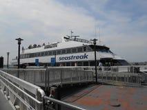 Πορθμείο Seastreak Στοκ Εικόνες