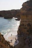Πορτογαλία Praja de marinha Στοκ εικόνες με δικαίωμα ελεύθερης χρήσης