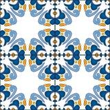 πορτογαλικά κεραμίδια διανυσματική απεικόνιση