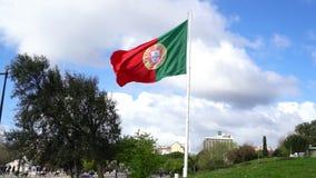 Πορτογαλική σημαία απόθεμα βίντεο