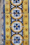 Πορτογαλική σύσταση azulejo Στοκ φωτογραφία με δικαίωμα ελεύθερης χρήσης
