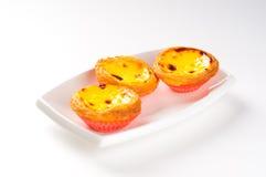 πορτογαλικός ξινός αυγών Στοκ φωτογραφία με δικαίωμα ελεύθερης χρήσης