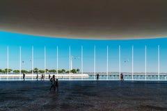 Πορτογαλικό εθνικό περίπτερο στη Λισσαβώνα Στοκ Εικόνες