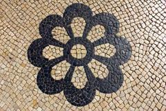 Πορτογαλικό πεζοδρόμιο Στοκ φωτογραφία με δικαίωμα ελεύθερης χρήσης
