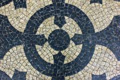 Πορτογαλικό πεζοδρόμιο Στοκ εικόνες με δικαίωμα ελεύθερης χρήσης