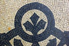 Πορτογαλικό πεζοδρόμιο Στοκ Εικόνα