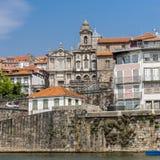 Πορτογαλία, Πόρτο Εκκλησία Αγίου Francisco από Duero Στοκ εικόνες με δικαίωμα ελεύθερης χρήσης
