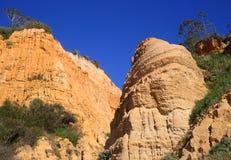 Πορτογαλία, πλευρά DA Caparica, απολιθωμένο φυσικό πάρκο Arriba Στοκ Εικόνα