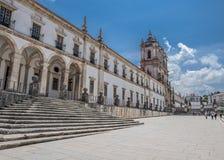 Πορτογαλία, Alcobaça Μοναστήρι της Σάντα Μαρία de Alcobaça Στοκ φωτογραφία με δικαίωμα ελεύθερης χρήσης