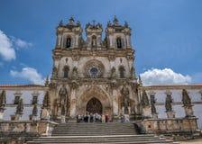 Πορτογαλία, Alcobaça Μοναστήρι της Σάντα Μαρία de Alcobaça Στοκ Φωτογραφίες