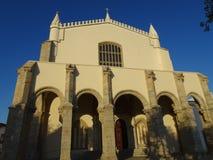Πορτογαλία, Evora, άποψη της εκκλησίας Στοκ φωτογραφία με δικαίωμα ελεύθερης χρήσης