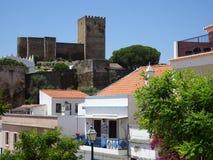 Πορτογαλία, Mertola, ακρόπολη Στοκ φωτογραφία με δικαίωμα ελεύθερης χρήσης