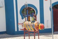 Πορτογαλία, Mertola, σύγχρονη τέχνη Στοκ φωτογραφίες με δικαίωμα ελεύθερης χρήσης