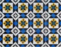 Πορτογαλικά διακοσμητικά azulejos κεραμιδιών Στοκ φωτογραφία με δικαίωμα ελεύθερης χρήσης