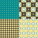 Πορτογαλικά κεραμίδια azulejo πρότυπα άνευ ραφής Στοκ εικόνες με δικαίωμα ελεύθερης χρήσης
