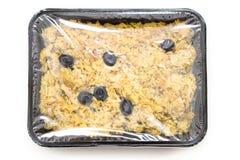 Πορτογαλικά ψάρια βακαλάων πιάτων με την πατάτα και τα αυγά Στοκ εικόνα με δικαίωμα ελεύθερης χρήσης