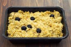 Πορτογαλικά ψάρια βακαλάων πιάτων με την πατάτα και τα αυγά Στοκ Εικόνες