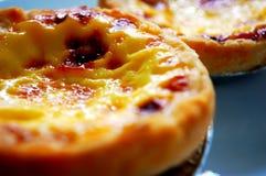 Πορτογαλικά tarts αυγών Στοκ Φωτογραφίες