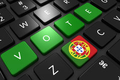 Πορτογαλικές εκλογές 2016 Στοκ εικόνες με δικαίωμα ελεύθερης χρήσης