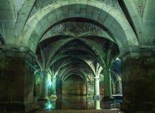 Πορτογαλική δεξαμενή Δεξαμενή EL Jadida, Μαρόκο Αρχαία ευρωπαϊκά ιστορικά κτήρια στο Μαρόκο Στοκ Εικόνες