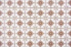 Πορτογαλικός τοίχος σπιτιών κεραμιδιών Στοκ εικόνες με δικαίωμα ελεύθερης χρήσης