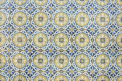 Πορτογαλικός τοίχος σπιτιών κεραμιδιών Στοκ φωτογραφία με δικαίωμα ελεύθερης χρήσης