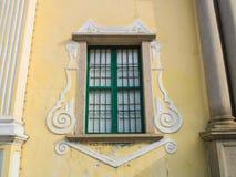 Πορτογαλικό παράθυρο ύφους Στοκ Εικόνες