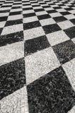 Πορτογαλικό πεζοδρόμιο περπατήματος Στοκ φωτογραφίες με δικαίωμα ελεύθερης χρήσης