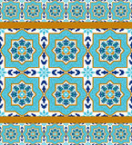 Πορτογαλικό azulejo Άσπρα και μπλε σχέδια Στοκ φωτογραφίες με δικαίωμα ελεύθερης χρήσης