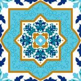 Πορτογαλικό azulejo Άσπρα και μπλε σχέδια Στοκ εικόνα με δικαίωμα ελεύθερης χρήσης