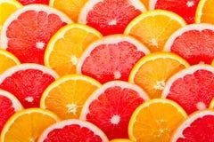 πορτοκάλια γκρέιπφρουτ ανασκόπησης Στοκ εικόνα με δικαίωμα ελεύθερης χρήσης