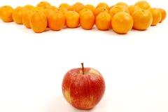 πορτοκάλια μήλων Στοκ Εικόνα