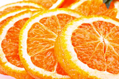 πορτοκάλια που τεμαχίζ&omicron στοκ φωτογραφία