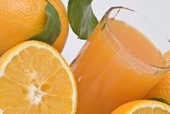 πορτοκάλια χυμού πρώτου π Στοκ φωτογραφίες με δικαίωμα ελεύθερης χρήσης