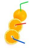 πορτοκάλια χυμού Στοκ εικόνα με δικαίωμα ελεύθερης χρήσης