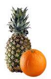 πορτοκάλι ανανάδων στοκ φωτογραφία με δικαίωμα ελεύθερης χρήσης