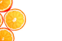 πορτοκάλι ανασκόπησης π&omicron Στοκ Εικόνα