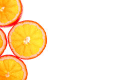 πορτοκάλι ανασκόπησης π&omicron Στοκ Φωτογραφίες