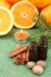 πορτοκάλι αρώματος Στοκ Εικόνες