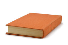 πορτοκάλι βιβλίων Στοκ φωτογραφίες με δικαίωμα ελεύθερης χρήσης