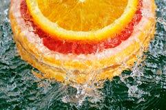 πορτοκάλι γκρέιπφρουτ Στοκ φωτογραφία με δικαίωμα ελεύθερης χρήσης